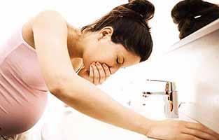 جلوگیری از حالت تهوع در دوران بارداری