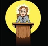 استرس در سخنرانی : غلبه بر استرس هنگام سخنرانی