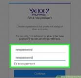 راهنمای تصویری طریقه عوض کردن پسورد ایمیل یاهو در کامپیوتر و موبایل