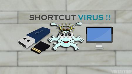 حذف ویروس شورتکات از کامپیوتر