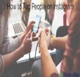 نحوه تگ کردن دوستان در اینستاگرام