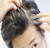 چرا رنگ موها خاکستری می شود؟