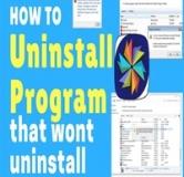 مراحل uninstall کردن نرم افزارهای سمج!
