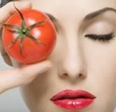 ماسک صورت گوجه فرنگی