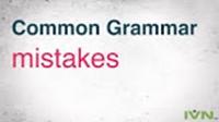 گرامر زبان انگلیسی به زبان ساده ، ۱۵ اشتباه گرامر انگلیسی