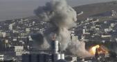 جنگنده ائتلاف آمریکایی مواضع ارتش سوریه را بمباران می کند