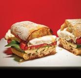 ساندویچ کدو سبز کبابی
