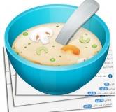 سوپ رشته فرنگی و مرغ