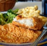 طرز تهیه ماهی سوخاری با پنیر پارمزان