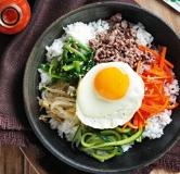 غذای کره ای بیبیمباپ