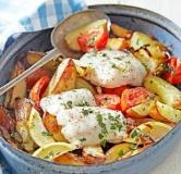 ماهی فری به سبک یونانی