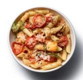 پاستا با سس گوجه فرنگی