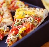 پیتزا فلفل دلمه ای