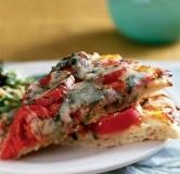 پیتزا گوجه و ریحان