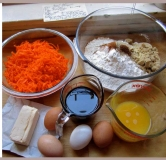 کیک رژیمی هویج