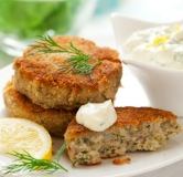 کیک یونانی ماهی کاد