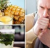 طرز تهیه معجون آب آناناس برای سرفه (۵ برابر مؤثرتر از شربت ضد سرفه)