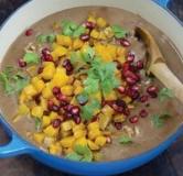 خورش فسنجان گیلکی گیاهخواری (خورشت انار و گردو)