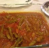 طرز تهیه خورش لوبیا سبز