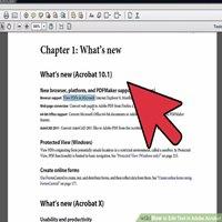 آموزش تصویری ویرایش فایل pdf با adobe reader به دو روش