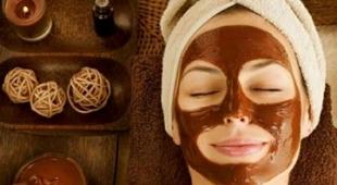 انواع ماسک صورت با استفاده از شکلات