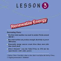 انگلیسی دوازدهم تجربی ، ریاضی و انسانی – درس سوم : انرژی تجدید پذیر