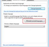 آموزش تصویری نحوه تغییر زبان پیش فرض ویندوز ۷ با دو روش مختلف