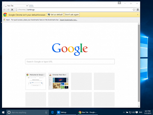 نحوه تنظیم گوگل بعنوان صفحه اصلی در کروم، فایرفاکس، اج و سافاری+ تصویر