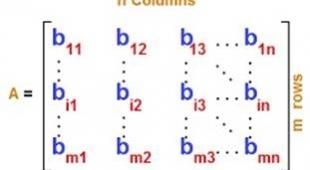 دانلود جزوه کامل ماتریس ها ، نحوه محاسبه معکوس ماتریس و …